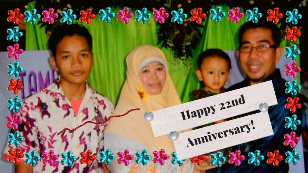 wedding anniversary bunda lillah
