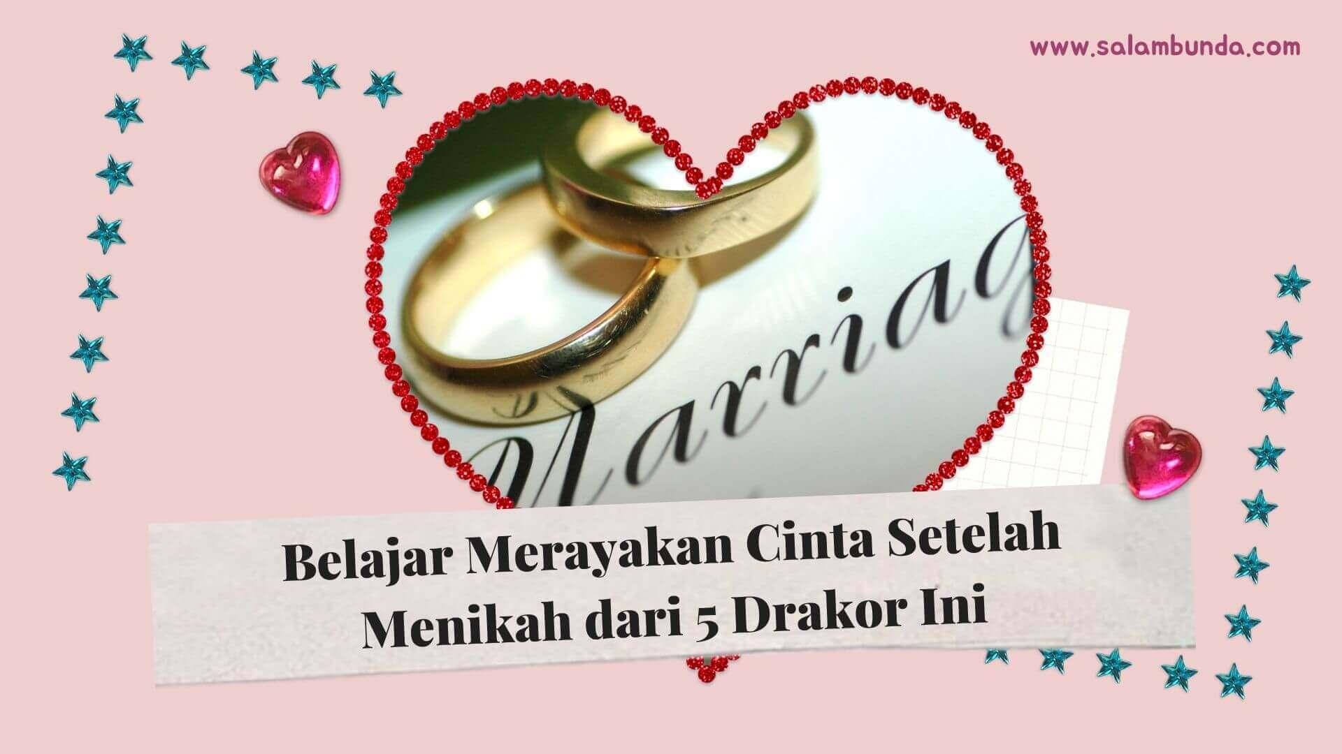 merayakan cinta setelah menikah