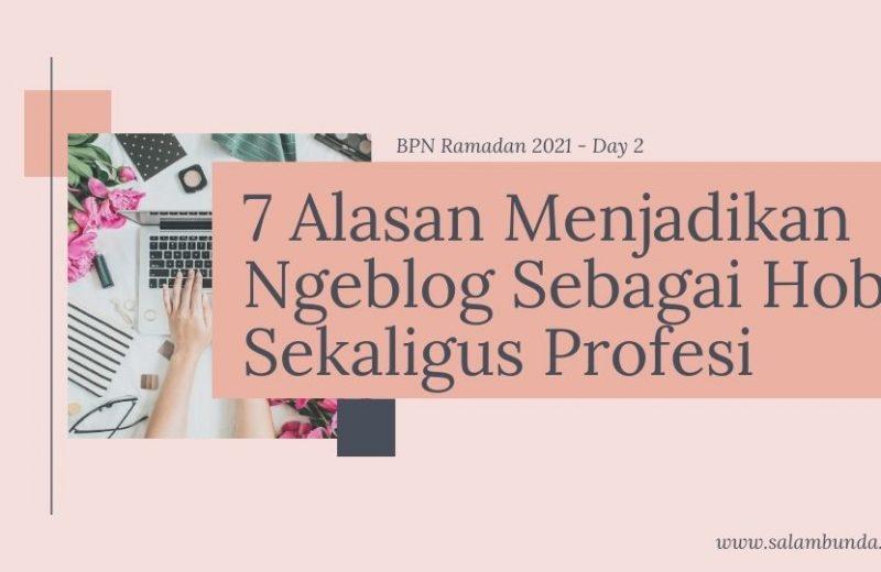 ngeblog sebagai hobi