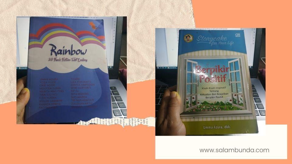buku antologi rainbow dan storycake