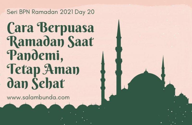berpuasa ramadan saat pandemi