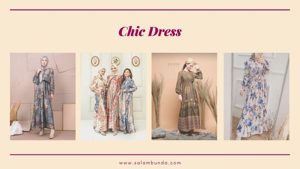 baju lebaran chic dress