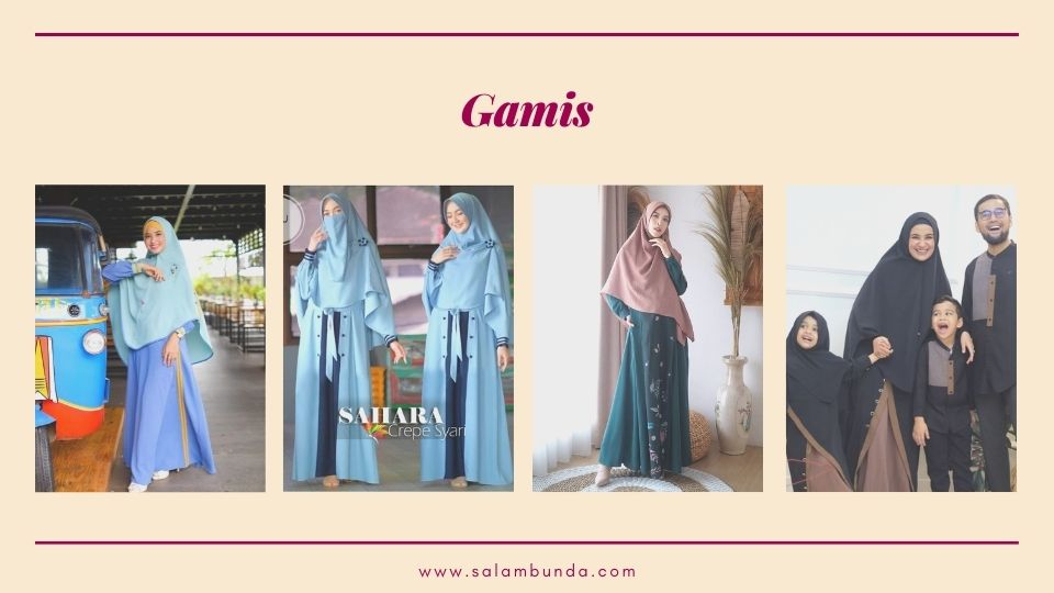baju lebaran gamis