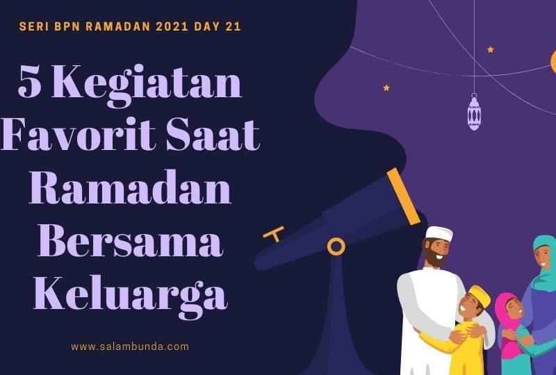 kegiatan favorit saat ramadan