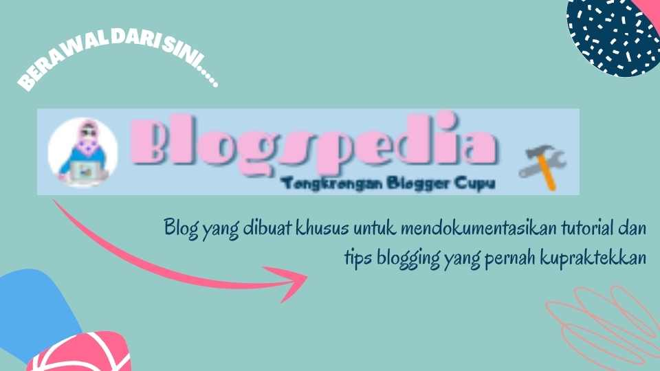 mengenal blogspedia