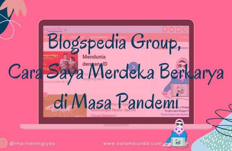 merdeka berkarya bersama blogspedia