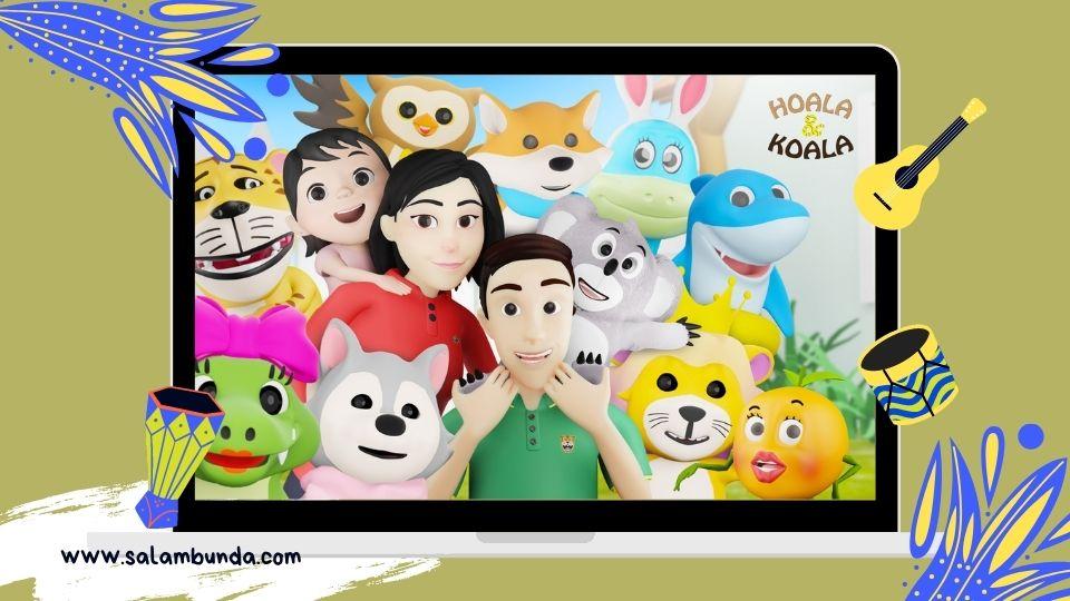 karakter lagu anak Indonesia hoala koala