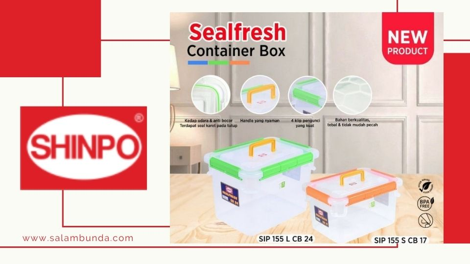 keunggulan kontainer box sealfresh shinpo